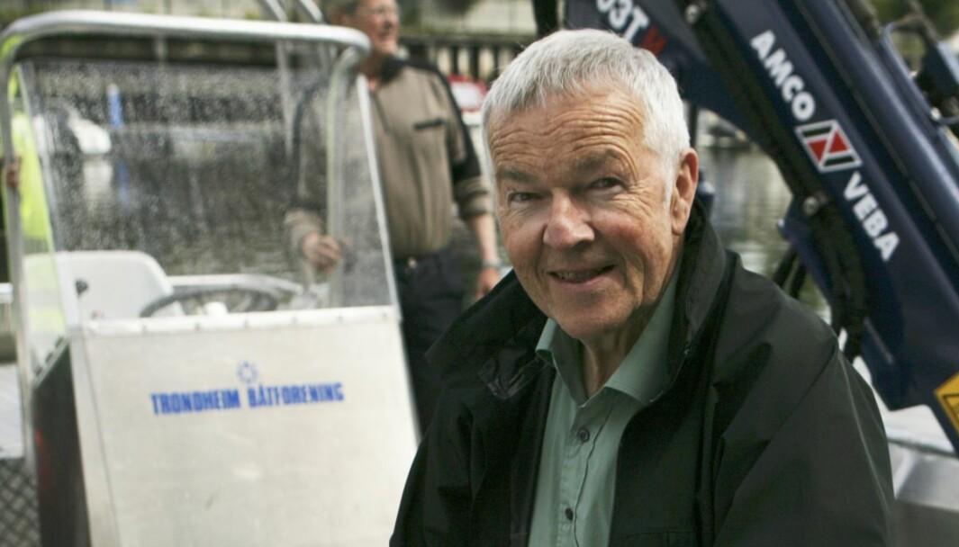 EKSPERT: Olaf Hjelmeland har lang erfaring som teknisk inspektør i IMCI.