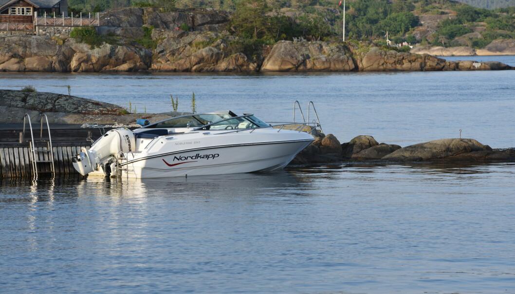 NYE LØSNINGER: Frydenbø-gruppen som var Evinrude-importør og eier båtprodusenten Nordkapp har inngått avtale med Mercury som skal levere motorer til Nordkapp i fremtiden.