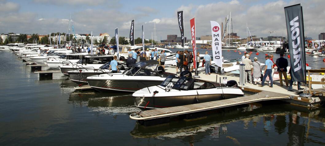 Godt salg på finsk båtmesse