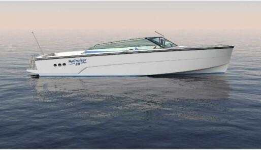Norsk båt med hydrogen på tanken