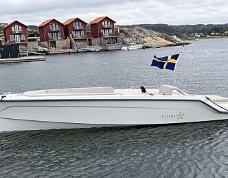 Svensk el-båt med moderat pris