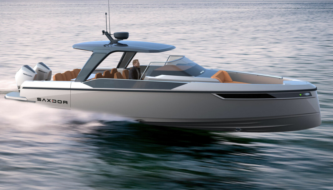 FINSK ELEGANSE: Designeren har virkelig utfoldet seg under utviklingen av Saxdor 320 GT0.