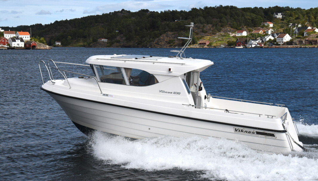 VIKNES 830: For 16 år siden kostet båten 800 000 kroner, en god investering den gang.