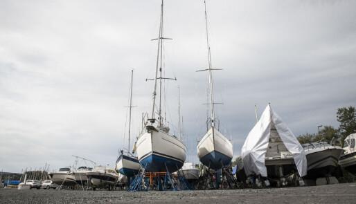 Mange av båtskadene skjer vinterhalvåret
