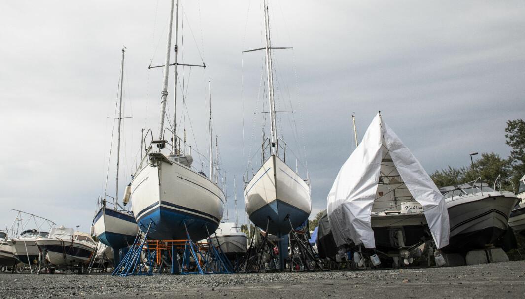 Én tredjedel av fritidsbåtskadene skjer utenfor båtsesongen. Foto: Katrine Lunke