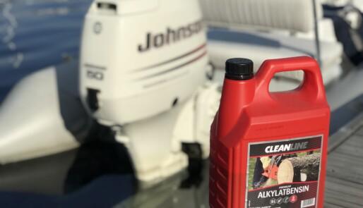 Bruk bensin som kan lagres