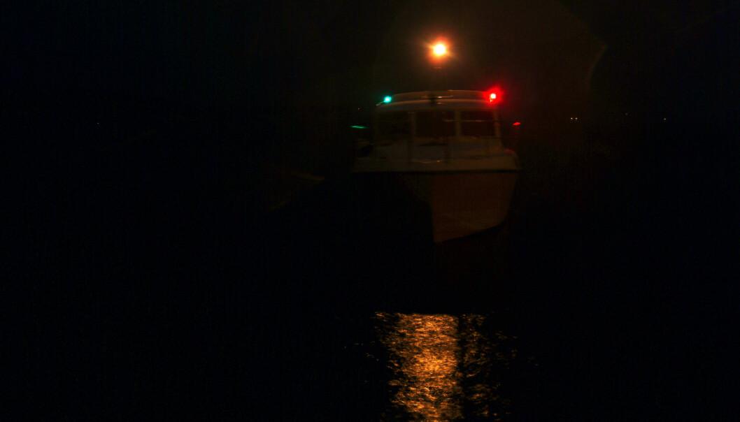 KOMBINASJONER: De viktigste lanternekombinasjonene er en vesentlig kunnskap å ha med seg når man begir seg ut på sjøen i mørket.