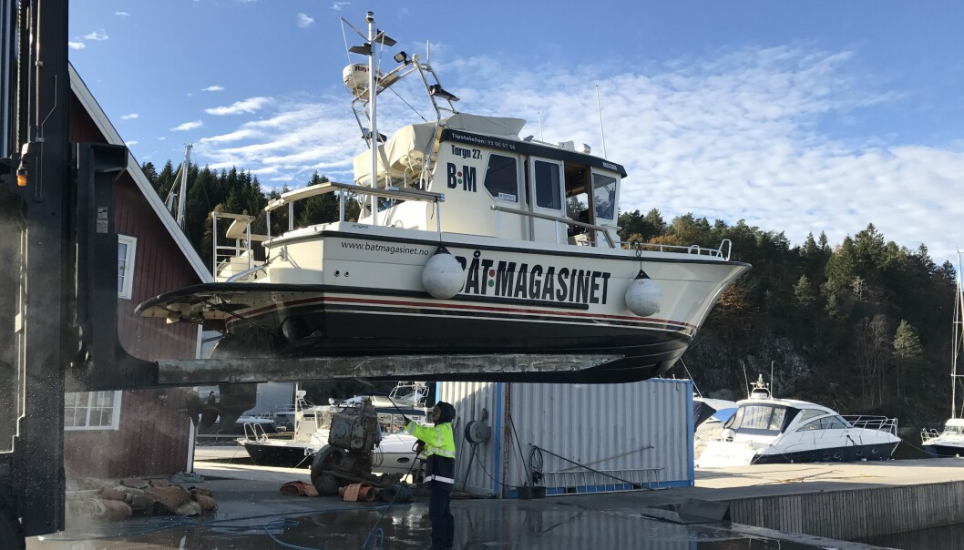 VEDLIKEHOLD: Når du leverer båten i opplag må du selv sørge for å ha oversikt over nødvendig vedlikehold som ønskes utført.