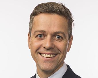 Har ikke penger: Samferdselminister Knut Arild Hareide (KrF) legger ikke oppstartmidler for Stad skipstunnel. Foto: Regjeringen