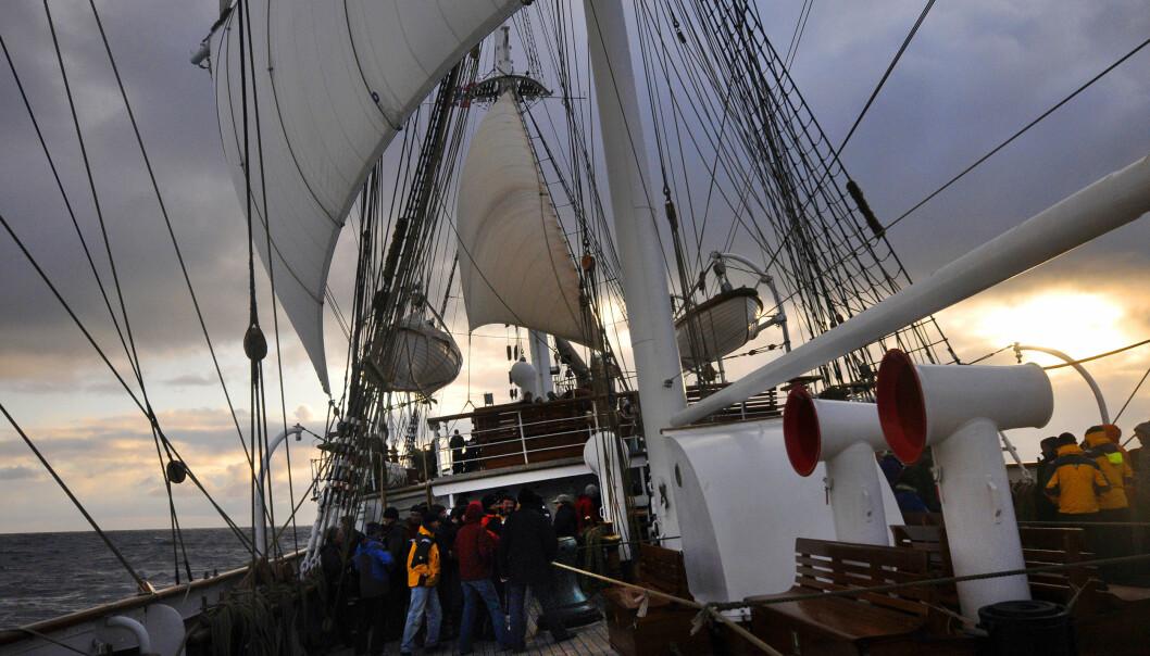 MER PENGER: Tilskuddene til Statsraad Lehmkuhl (bildet) og de to andre, norske skoleskipene økes i 2021. Foto: Jan Hanchen Michelsen