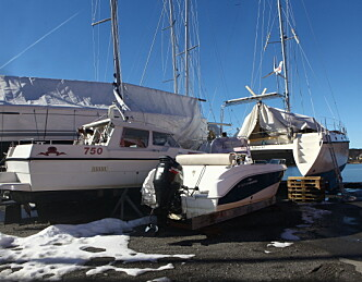 Slik er båten din godt forsikret i vinteropplag