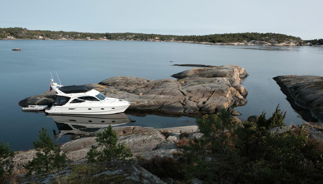 FINE NATURHAVNER: Utenfor Porsgrunn og Bamble er det flere fine havner, her fra Kråka.
