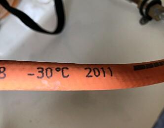 Fem års levetid for propanslangen