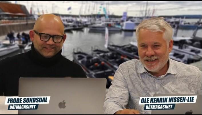Båtmagasinet Live på Facebook og batmagasinet.no.