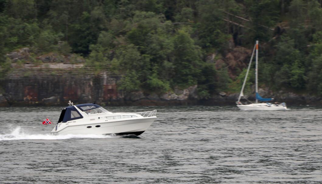 POLITIET: Myndighetene vil innføre forenklet forelegg på sjøen