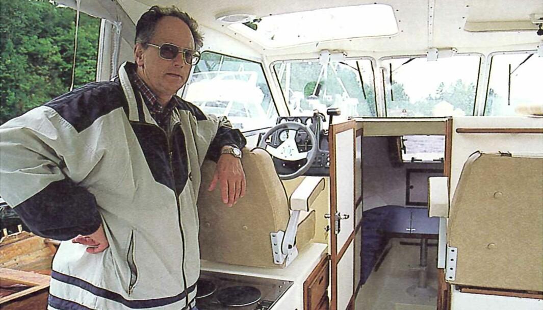 FRA PRAKTISK BÅTLIV 8 2001: Sverre Jacobsen lagde ujålete Sigma 25 HTS.