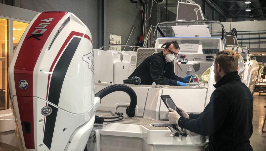 UTFORDRENDE: Hydrolift produserer etter beste evne i koronatider.