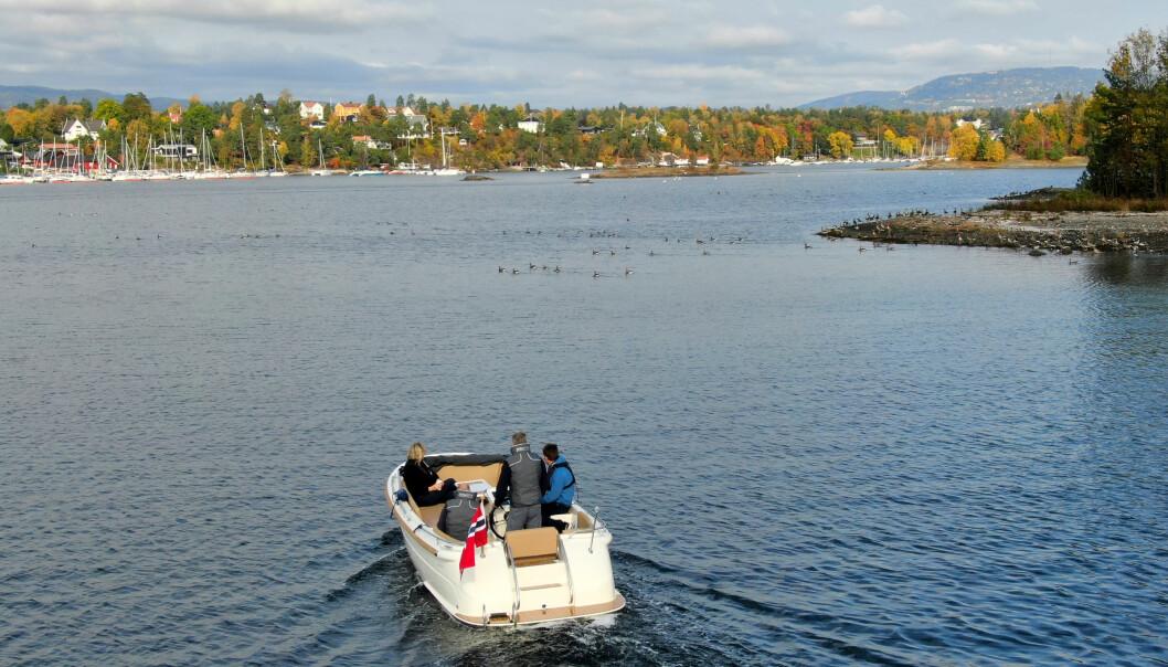 GRØNT BÅTLIV: Greenwaves lager elektriske båter og er en av leverandørene til nyetablerte Kruser som håper på 2–300 båter om et par år.