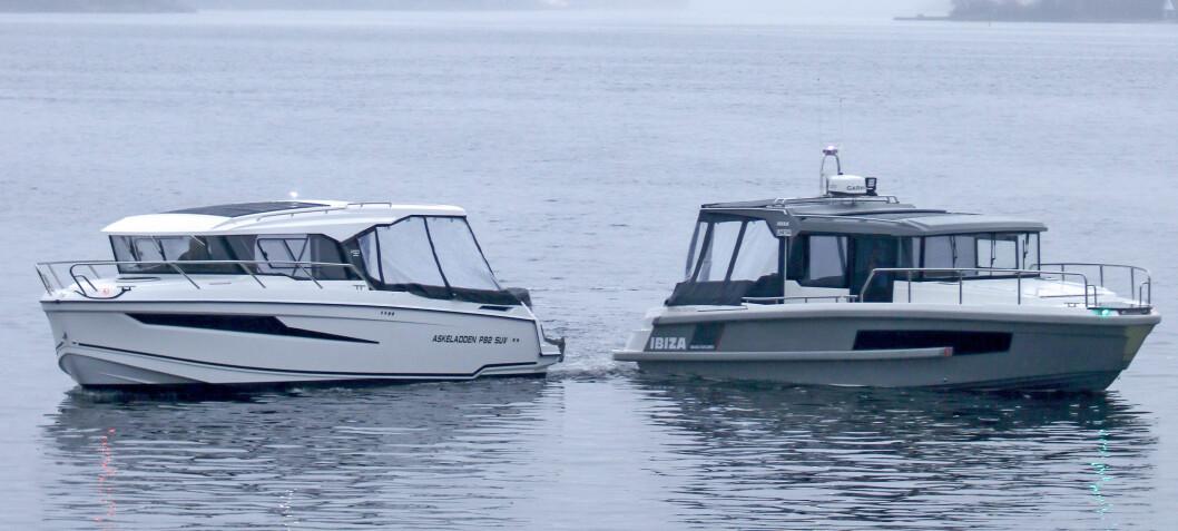 Test av to styrhusbåter: Ibiza Grand Explorer mot Askeladden P92 SUV