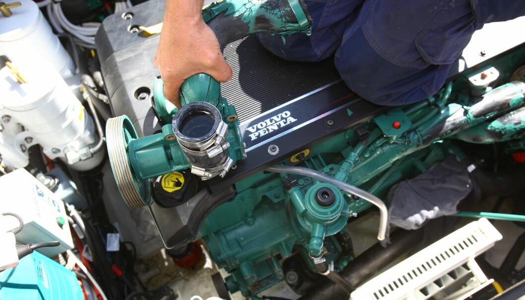 VARM MOTOR: Motoren hadde gått varm, men skulle være fagmessig reparert. Flere feil dukket opp. (ILLUSTRASJONSFOTO: ATLE KNUTSEN)