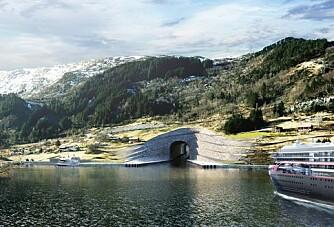 Starter bygging av skipstunnel på Stad i 2021