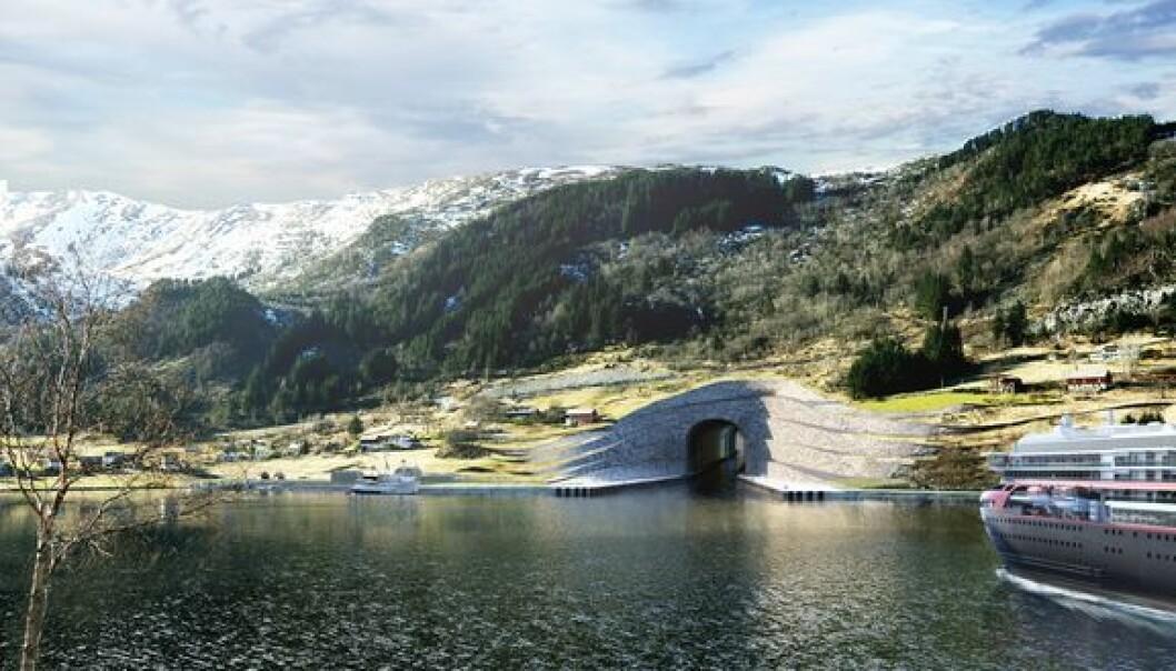 Neste år starter bygging av skipstunnel på Stad, ifølge Kystverket