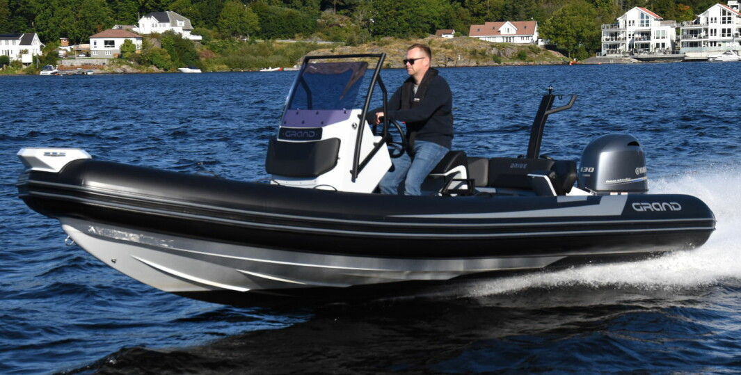 GRAND DRIVE 600: RIB-merket er dominerende i Norge.