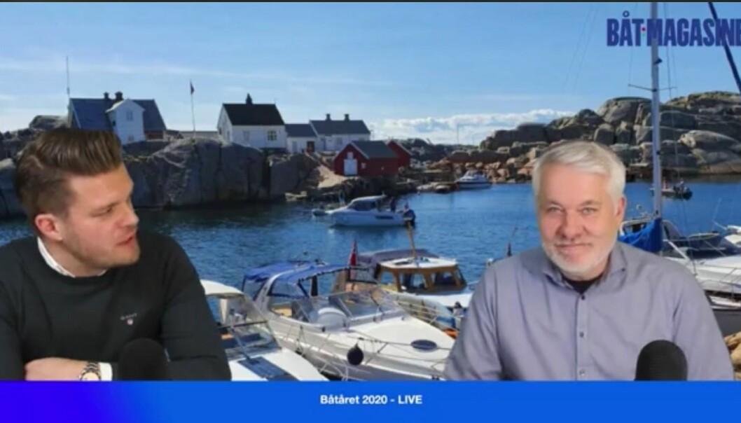 LIVE: Påtroppende Norboat-sjef Magnus Frøshaug Ryhjell deler sine tanker om båtlivet på Web-TV
