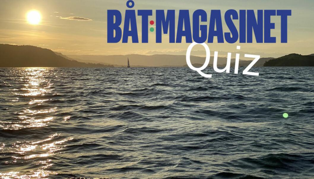 ÅRETS SISTE BÅT-QUIZ: Hvor godt har du fulgt med båtåret?