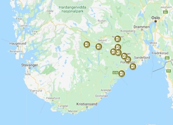 STRØM: Det blir etablert 10 stk ladestasjoner i Telemark med tanke på fremtidens båtliv.