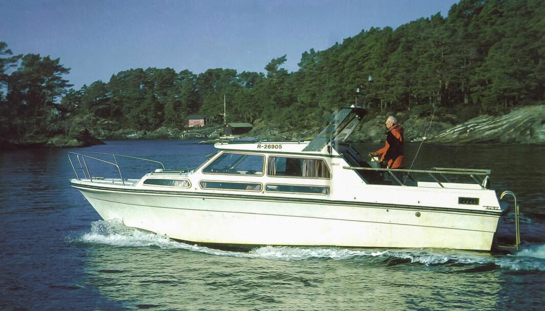 FRA ARKIVET: I Praktisk Båtliv nummer 5 2001 bled et gjort en bruktbåttest av Halvo 29.