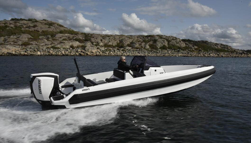 Europeisk båtjournalister liker Iron 767