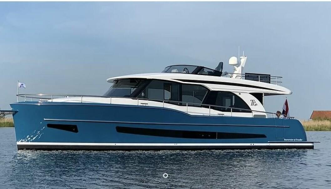 NOMINERT: Boarncruiser Traveller 46 er en av tre nominerte til Årets Motorbåt i kategorien deplasementsbåter