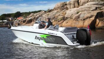 Hydrolift satser elektrisk med Evoy på hekken