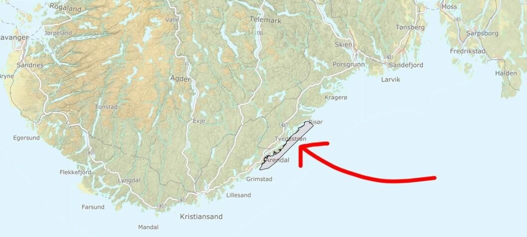I dette området står trolig rundt 6500 krabber, 2900 fisk og 500 hummer fanget i spøkelsesteiner