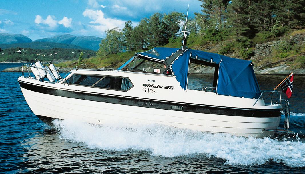 NIDELV 26: Båten ble testet i Praktisk Båtliv 8 i 1999.