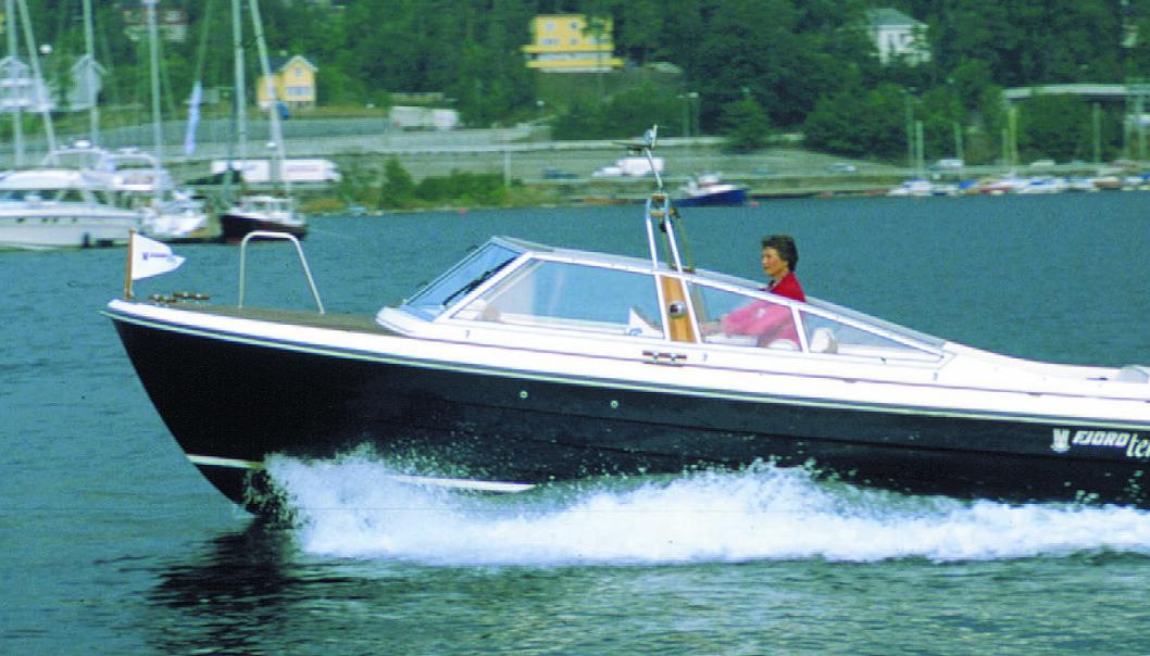 MER FRA TESTARKIVET: Fjord Terne 21