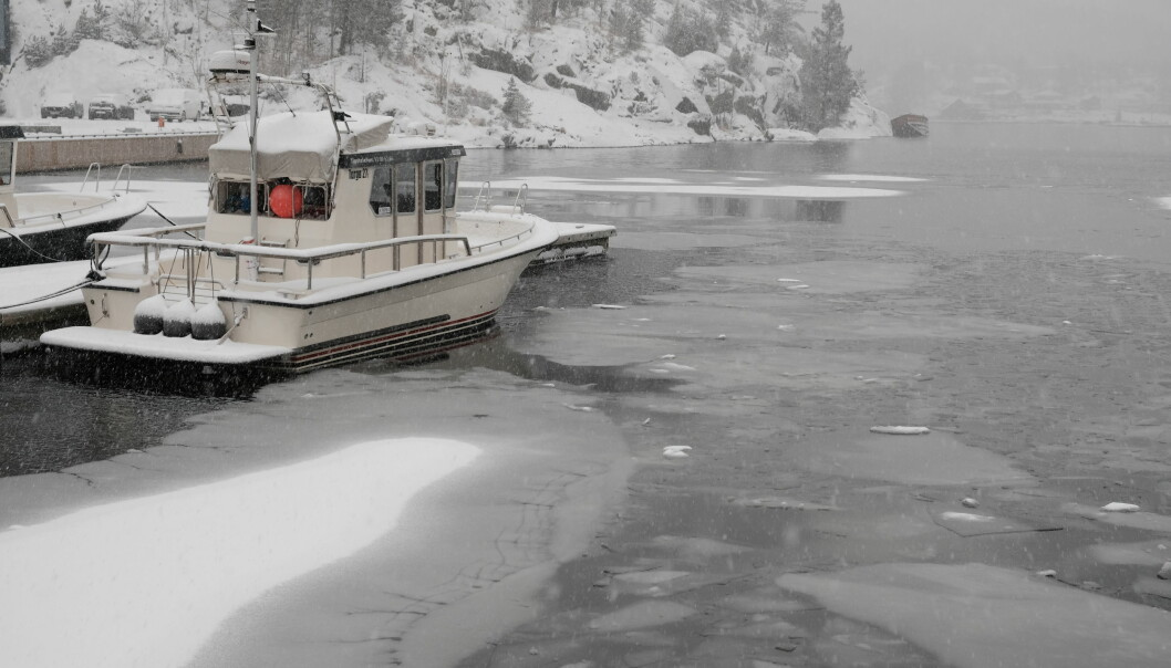 ÅRET RUNDT: I reportasjebåten går dieselvarmeren drøyt 400 timer i året. Etter åtte år, og 3308 driftstimer, valgte vi å bytte til en ny, tilsvarende varmer.