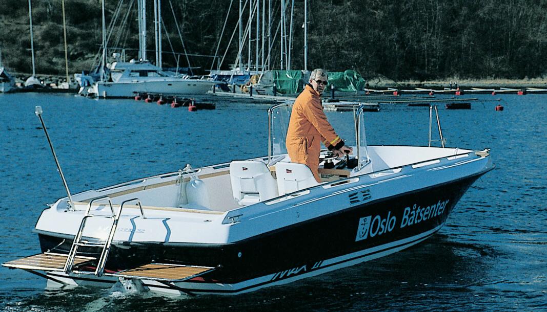 FRA TESTARKIVET: Nimbus Max II Classic ble testet i Praktisk Båtliv 5 2000.