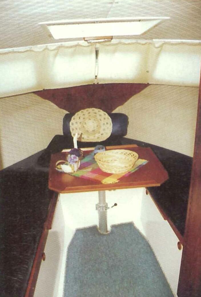 SAGA 7000: Bilde fra Praktisk Båtliv 2 2000.