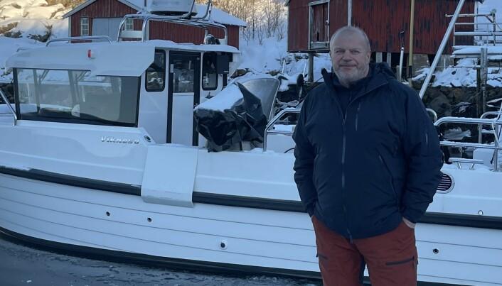 TOMMEL OPP: - Det siste jeg ønsker er at enda flere båtkjøpere skal havne i samme situasjon som meg, og mange andre, sier Bjarne Håkon Hanssen og er glad for det ferske vedtaket om tilbaketrekking av den nye Rana 610. (FOTO: PRIVAT)