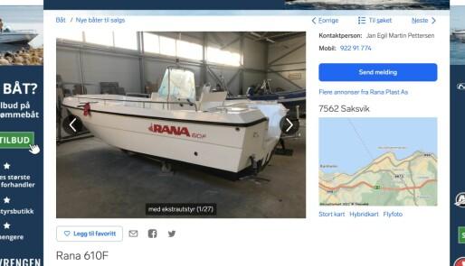Sjøfartsdirektoratet setter foten ned for nye Rana 610