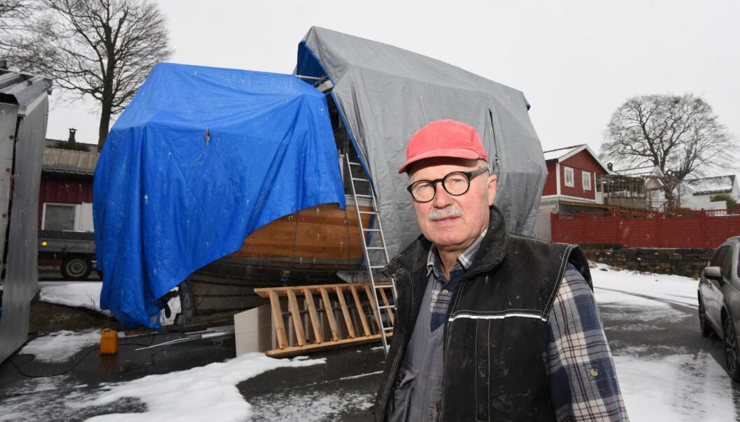 GA OPP: Thor Norling fikk ikke registrert båten i Småbåtregisteret fordi den ikke er CE-merket.