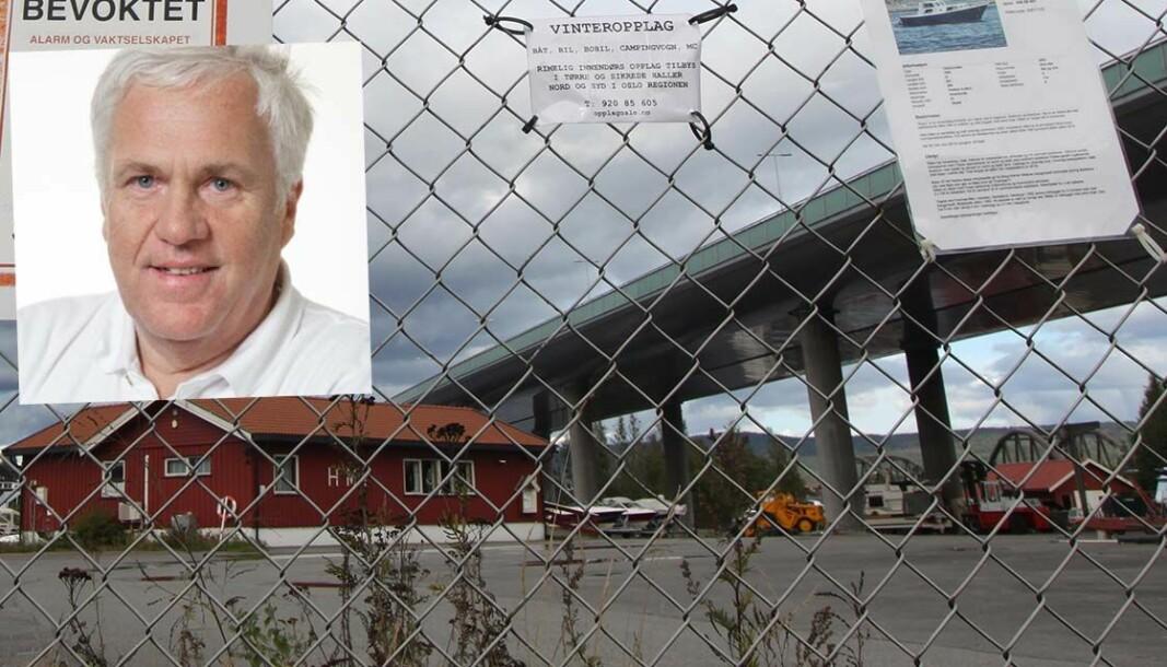 SAMARBEIDSPROBLEMER: Tidligere president Egil Kr. Olsen kritiseres for å ha gått egne veier i samarbeidet med KNBF-sekretariatet.