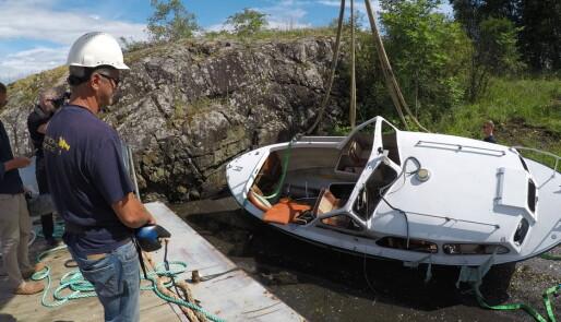 260 tonn «bare toppen av isfjellet»