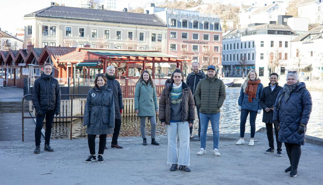 SLÅR SEG SAMMEN: Lydløsfestivalen og Passion for Ocean samarbeider om festival i Arendal.
