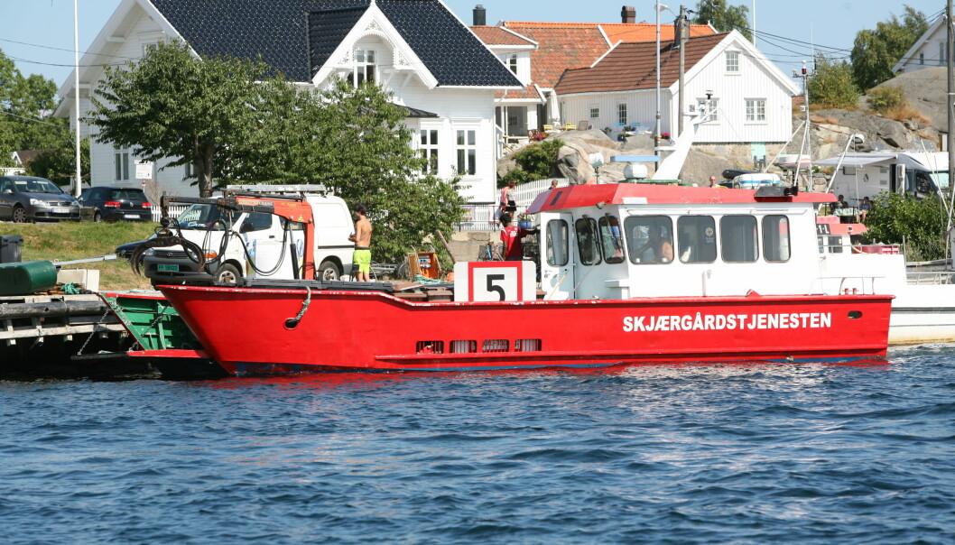 UTVIDES: Med etableringen i Sogn og Fjordane dekker nå Skjærgårdstjenesten kysten fra Sverige til Møre og Romsdal.