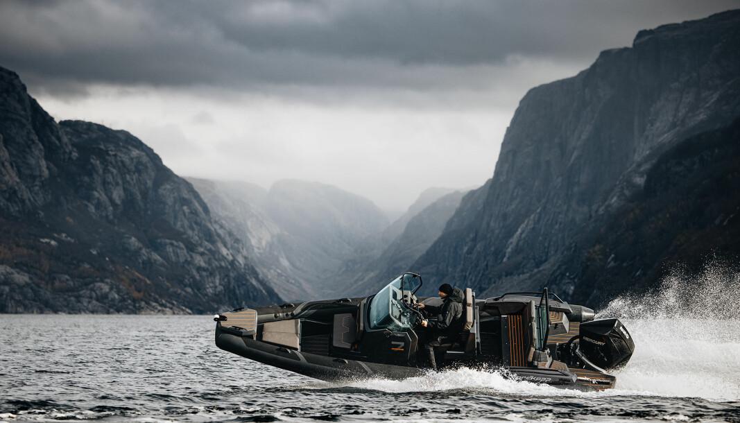 SATSER BREDT: Med RIB i sortimentet satser Nordkapp dette året i ytterligere en nisje.
