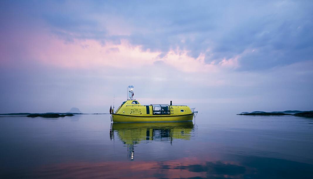 EVENTYR: I en ombygd Norsafe livbåt har kameratene David Schnabel og Guylee Simmonds tilbakelagt 2700 nautiske mil.