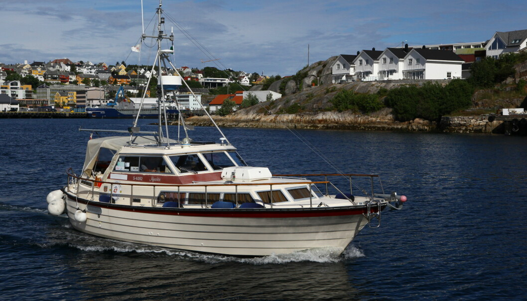 MILJØBIDRAG: Kan et båtliv i gamle, saktegående båter være et positivt miljøbidrag i ferden mot et fossilfritt båtliv?